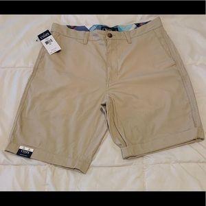Chaps Khaki Bermuda Shorts 32W